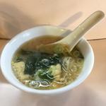 59378640 - セットのスープは味噌汁