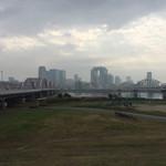 時屋 - 淀川河川敷から梅田方面