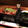昇家 - 料理写真:和牛切り落とし重 肉増し☆