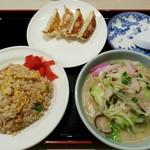 中華菜館かたおか - ちゃんぽんセット(1000円)