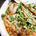 カラシビ味噌らー麺 鬼金棒 - チャーシューと味玉