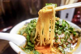 カラシビ味噌らー麺 鬼金棒 - 麺