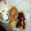 真古都亭 - 料理写真:三種類7ソースとタルタルを付けたカキフライ