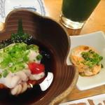 葵鮨 - 白子&アン肝