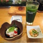 葵鮨 - お通しはアン肝