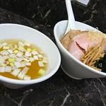 えんや - 新小麦100%麺の塩つけ麺1000円