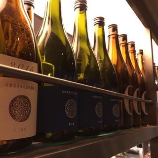 日本酒80種以上
