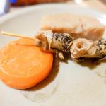 大多福 - 貝と人参とつぶ貝
