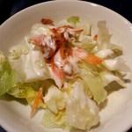 アロヒディン - ランチのサラダ