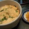 金時 - 料理写真:衣笠丼とたくあん◎