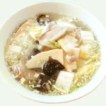 青山麺飯坊 - 豚肉白菜ラーメン