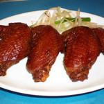 青山麺飯坊 - 手羽先の旨タレ煮