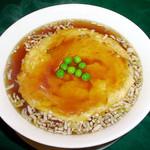 青山麺飯坊 - 天津麺