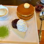 59393149 - どらやきパンケーキ【料理】