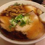 河むら - チャーシューワンタン麺 メンマ