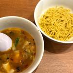 台湾ケンさん - 台湾あんかけタンメンのスープと替え玉