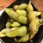 炭バル - 丹波の枝豆、ふっくらしてて美味しい!