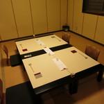 食彩なかしま - 2階の個室、最大8名