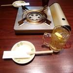 ちりとり鍋・鉄板焼 一 - ハイボール、烏龍茶