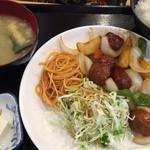 あらたま - 肉団子甘酢定食