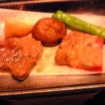 ホテル角萬 - 101120熊本 角萬 ステーキ
