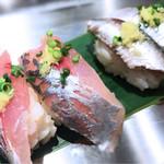 寿司 魚がし日本一 - アシ、イワシの青魚セット