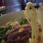 59400820 - 角煮焼き豚ラーメンの麺