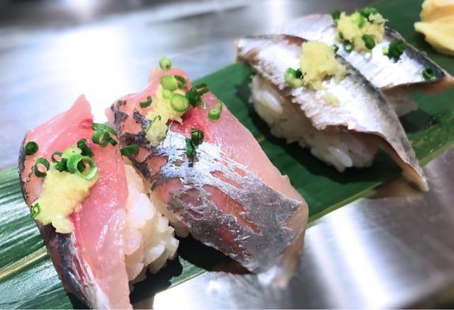 「青魚 寿司」の画像検索結果
