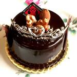 カフェ ミティーク - ミロワールショコラ!ティアラが可愛いチョコレートムース