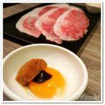 59403770 - サーロインの焼きしゃぶ(九州秘伝のタレ)
