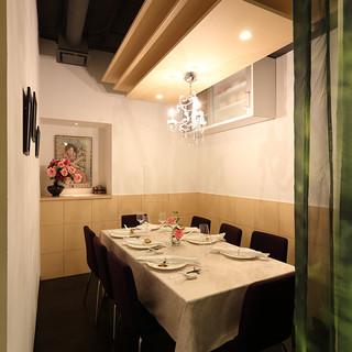 【半個室~広めのカウンターまで】美味しい料理と豊かな時間を