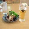 シャム チャントラー - 料理写真:春雨サラダ280円とランチビール100円