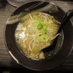 青唐爽麺 ハルク - 青唐そば(中辛) 780円