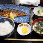 59405532 - 鯖の塩焼き定食¥980
