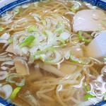 金華園 - 料理写真:ラーメン:500円/2016年11月