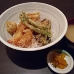 完全個室居酒屋&絶品料理食べ放題 桜花 - 上天丼