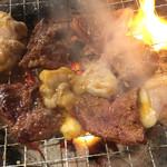 七輪焼肉 安安 - 料理写真:炭火焼肉☆★★☆