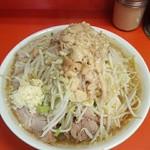ラーメン二郎 - 大豚※ニンニク野菜アブラ