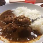 タシモリカレー - 鶏も柔らかくて食べやすかった。