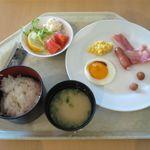 心彩身 - 料理写真:いつもと変わらない軽い朝食