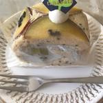 メゾン・ド・ガトー タナバタ - さつま芋とごまのロールケーキ