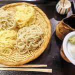 松翁 - 料理写真:お蕎麦