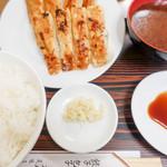 スヰートポーヅ - 味噌汁付きの定食Ver