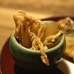 谷中の雀 - カブの煮物