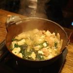 谷中の雀 - 軍鶏鍋