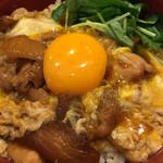 博多もつ鍋 幸 とりもつえん - 特製赤鶏さつま 親子丼