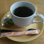 とんかつもりや - サービスコーヒー