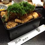 もも瀬 - 穴子ばら揚丼1,400円