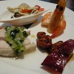 中国名菜 銀座アスター - ランチの前菜