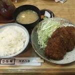 59419736 - とんかつ定食 ¥760-